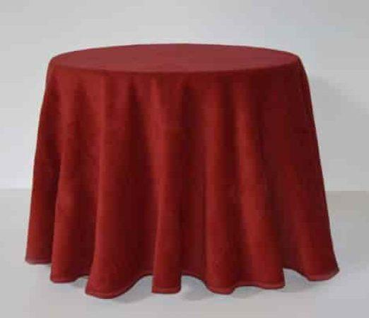 falda para vestir la mesa camilla en invierno de color granate las mejores enaguas
