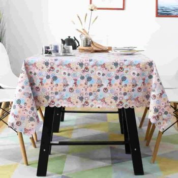 mantel de pvc para adornar mesa camilla hule lavable tapete facil de limpiar 2019