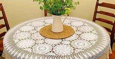 C mo decorar una mesa camilla redonda - Decorar mesa camilla ...