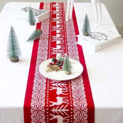 más imágenes de caminos de mesa para navidad