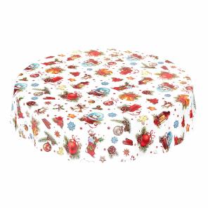 mantel de mesa infantil para navidad