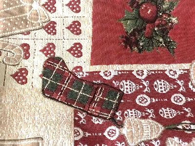 detalles del camino de mesa navideño de la mesa camilla de tejido ropa chenilla de invierno para abrigarse del frio