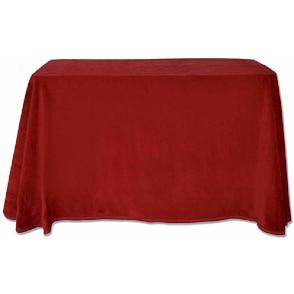 Bonitas faldas para mesa camilla en acrílico de terciopelo para el invierno. tela gruesa