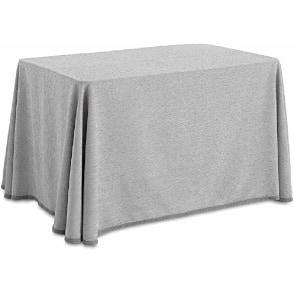 Las mejores faldas para la mesa camilla de color gris chenilla
