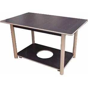 comprar mesa camilla rectangular de madera y contrachapado