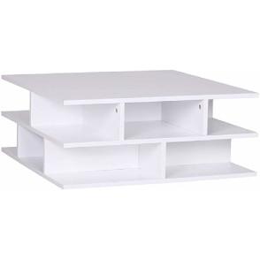 mesa auxiliar moderna mesa de centro cuadrada original