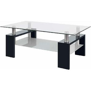 mesa de cristal auxiliar de salon