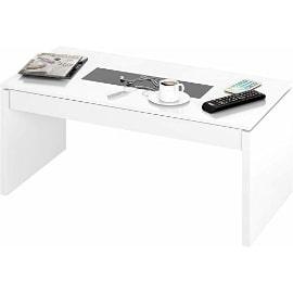 mesa de centro elevable con cristal