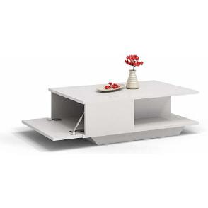 mesita de centro auxiliar de diseño moderno para el sofá
