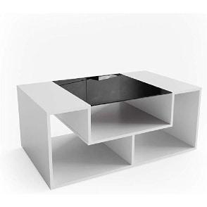 moderna mesa centro sencilla