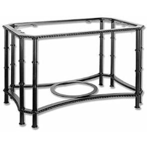 mesa camilla de foja, metal hierro, preciosa mesa camilla elevable bonita