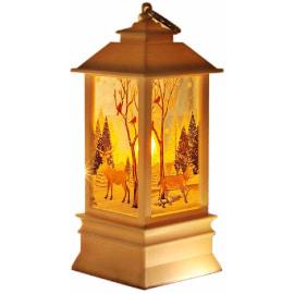 Farolas estilo antiguo para navidad que funciona con velas