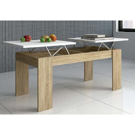 mesa centro de doble tablero elevable independiente