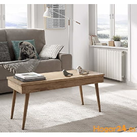 mesa de centro elevable de estilo escandinavo nordico