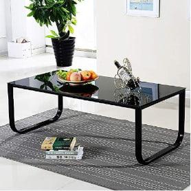 comprar mesas de centro de color negro tienda online