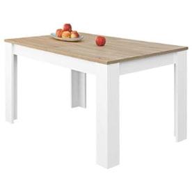 mesa comedor madera extensible. mesa comedor extensible tipo libro. mesa nordica.