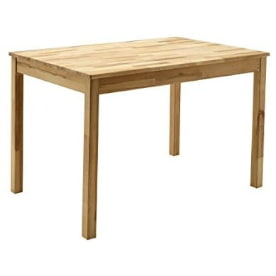 mesa para el comedor de madera de acacia. mesa de acacia para el comedor. mesa de acacia maciza.