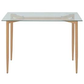 mesa comedor cristal escandinava nordica