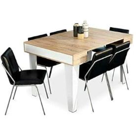 mesa extensible moderna de diseño actual