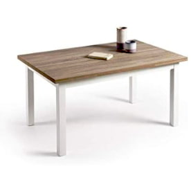 mesa comedor tradicional extensible.