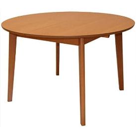 mesa redonda extensible grande de haya ... mesa comedor grande madera natural