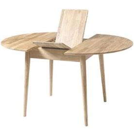 moderna mesa extensible estilo nordico escandinava redonda.  mesa comedor redonda extensible estilo nordico