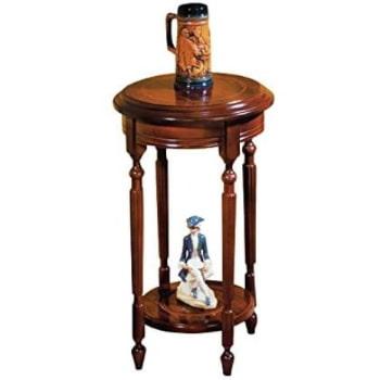 mesa velador de madera