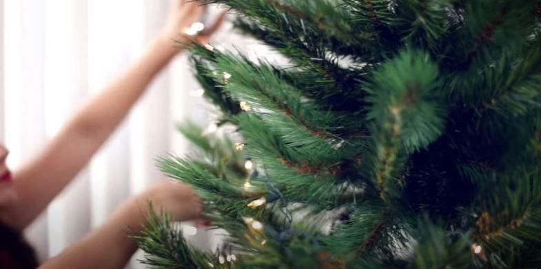 paso 2 - Empieza por las luces navideñas