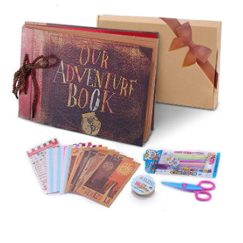 Kit pack: Álbum Scrapbooking película UP.