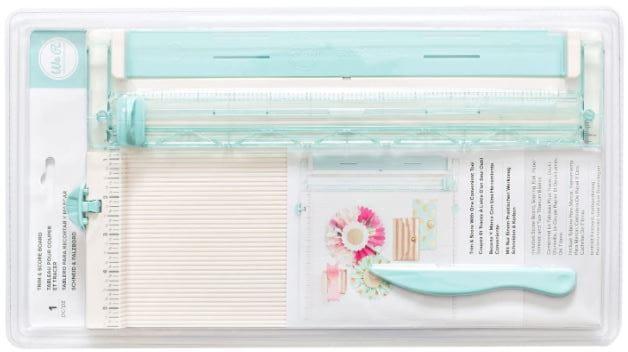 cizalla de corte para papel y cartón y plegadera para 12 x 12 pulgadas, pensada y diseñada para hacer scrapbooking.