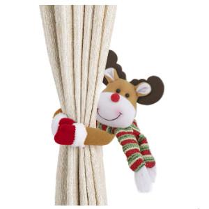 Alzapaños para cortinas de navidad.