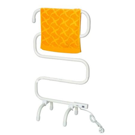 El modelo de radiador toallero eléctrico en zig zag más barato del catálogo de Amazon que he encontrado.