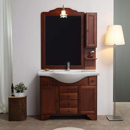 Muebles con lavabo de buena calidad hechos de madera para el cuarto de baño: Lavabo estilo shabby chic.