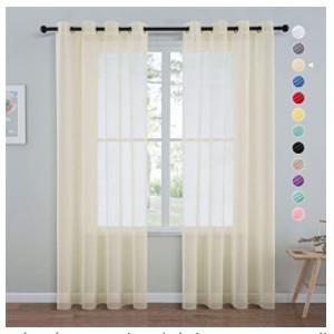 visillos translucidos de colores para dormitorios, puertas, cocinas, puertas y ventanas.