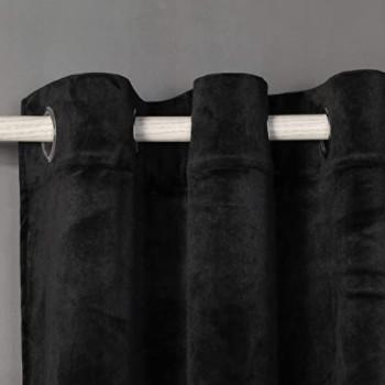 Cortina de terciopelo negra: Cortinas de terciopelo negras.