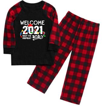 Pijamas de navidad divertidos para recibir el año nuevo.