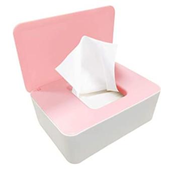 Accesorios de baño: Caja para guardar toallitas húmedas higiénicas.