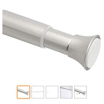 Accesorios de baño: Una barra de cortina de ducha estándar, perfecta para casi todas las cortinas de ducha.