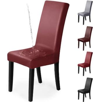 fundas impermeables para sillas con respaldo