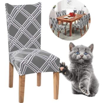 Fundas antiarañazos para sillas con gatos