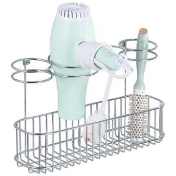 Accesorios de baño: Soporte de baño para secador de pelo.