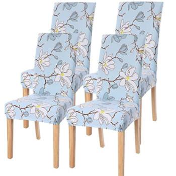 Fundas nórdicas para sillas de salón comedor.