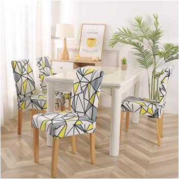 Fundas para sillas de estilo Nórdico.